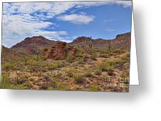 Gates Pass Scenic View Greeting Card