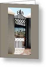 Gateway In St. Thomas Greeting Card