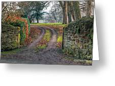 Gateway To Autumn Greeting Card