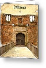 Gateway To History Greeting Card