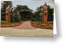 Gateway To Ndsu Greeting Card
