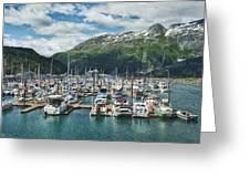 Gateway To Prince William Sound Alaska Greeting Card by Kim Hojnacki