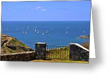Gateway To The Atlantic Greeting Card