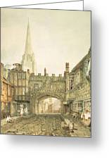 Gateway To The Close, Salisbury Greeting Card