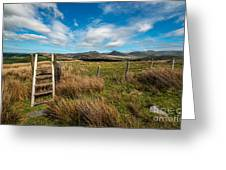 Gateway To The Mountains Greeting Card