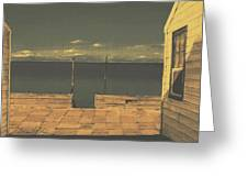 Gateway To The Sea Greeting Card