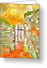 Gateway To The Stars Greeting Card