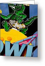Gator Bowl Greeting Card