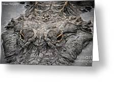 Gator Eyes Greeting Card
