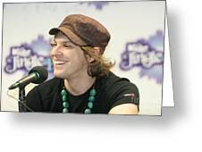Gavin Degraw Greeting Card