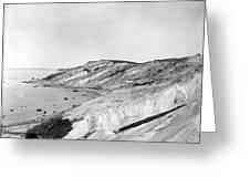 Gay Head Cliffs, C1903 Greeting Card
