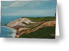 Gay Head Cliffs Greeting Card