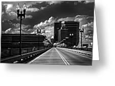 Gay Street Bridge - Knoxville Greeting Card