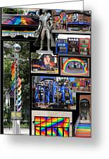 Gay Village 1 Greeting Card