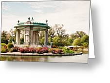 Gazebo At Forest Park St Louis Mo Greeting Card