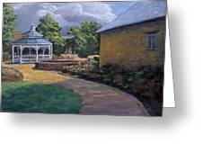 Gazebo In Potter Nebraska Greeting Card