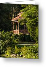 Gazebo In The Park   Greeting Card