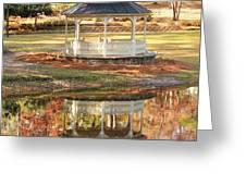 Gazebo In The Park Greeting Card