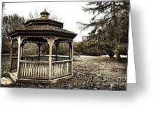 Gazebo Greeting Card
