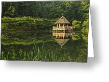 Gazebo Reflections Greeting Card