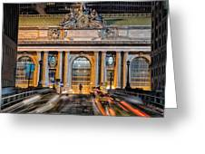 Gct From Park Ave Greeting Card