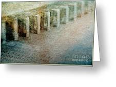 Gear Tooth Binary Greeting Card by R Kyllo