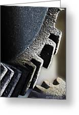 Gears Of A Grist Mill Greeting Card