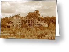 Geauga Lake 2  Greeting Card