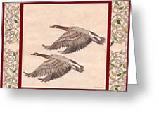 Geese Greeting Card