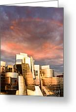 Gehry Rainbow Greeting Card