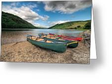 Geirionydd Lake Greeting Card