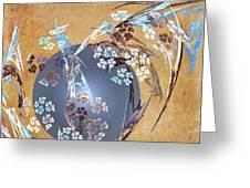Geisha Moon Greeting Card