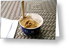 Gelato In The Park Greeting Card