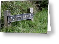 Gelerts Grave Greeting Card