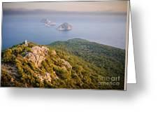 Gelidonia Headland At Sunset 2 Greeting Card