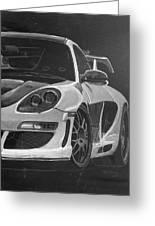 Gemballa Porsche Left Greeting Card
