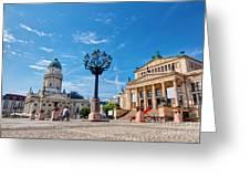 Gendarmenmarkt In Berlin Germany Greeting Card