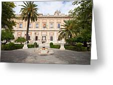 General Archive Of The Indies In Seville Greeting Card