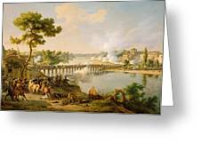General Bonaparte Giving Orders At The Battle Of Lodi Greeting Card