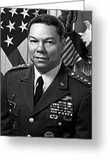 General Colin Powell Greeting Card by War Is Hell Store