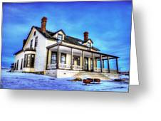 General Custer House Greeting Card