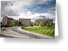 General Electric - Schenectady Greeting Card by Ray Summers Photography