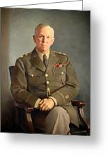 General George C Marshall Greeting Card