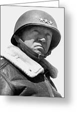General George Patton Greeting Card by War Is Hell Store
