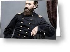 General James S Robinson Greeting Card