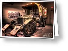 General Motors K-16 Ambulance Greeting Card