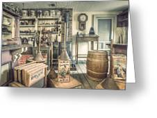 General Store - 19th Century Seaport Village Greeting Card