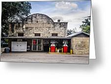 General Store In Independence Texas Greeting Card