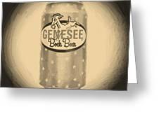 Genesee Bock Beer Greeting Card