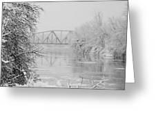 Genesee River Greeting Card